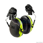 3M Orejera Peltor™ montable a Casco, doble copa, X4P3E