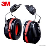 3M Peltor Optime 105 Orejera sobre Casco, Conservación Auditiva, H10P3E